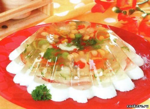 Как приготовить заливное из сметаны